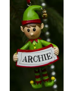 Elf Decoration  - Archie