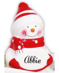 Snowman Decoration -  Abbie