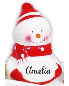 Snowman Decoration -  Amelia