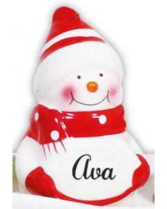 Snowman Decoration -  Ava
