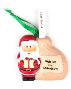 Santa List Sack - Grandson