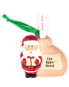 Santa List Sack - Ive Been Good