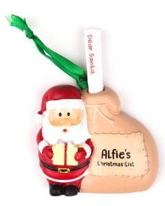 Santa List Sack - Alfie
