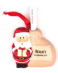 Santa List Sack - Alice