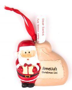 Santa List Sack - Amelia