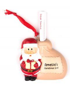 Santa List Sack - Amelie