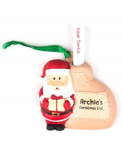 Santa List Sack - Archie