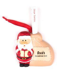Santa List Sack - Ava
