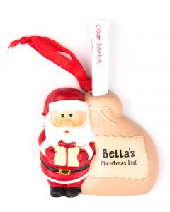 Santa List Sack - Bella