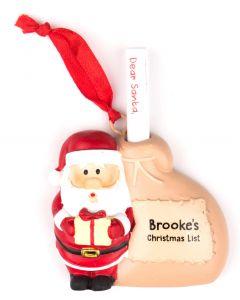 Santa List Sack - Brooke