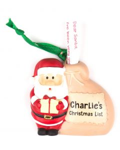 Santa List Sack - Charlie