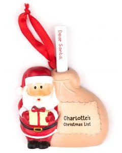 Santa List Sack - Charlotte