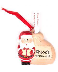 Santa List Sack - Chloe