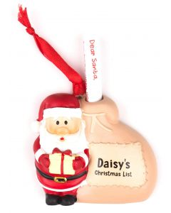 Santa List Sack - Daisy