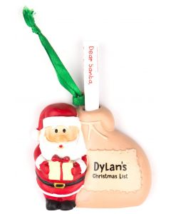 Santa List Sack - Dylan