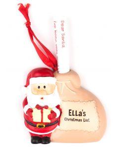 Santa List Sack - Ella