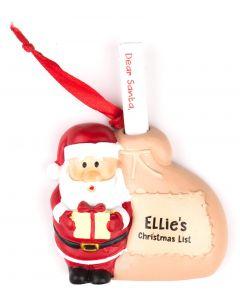 Santa List Sack - Ellie