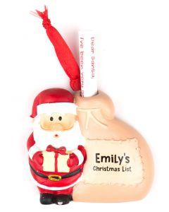 Santa List Sack - Emily