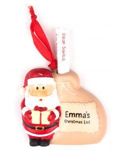 Santa List Sack - Emma