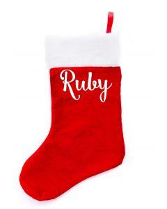 Xmas Stockings - Ruby