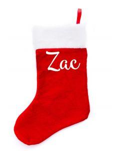 Xmas Stockings - Zac