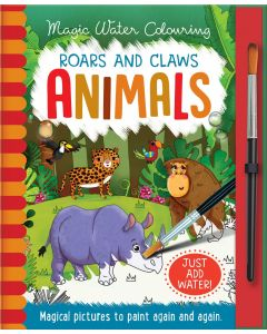 Roars And Claws Animals Magic Water Colouring