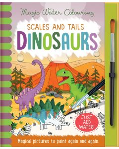 Scales And Tails Dinosaurs Magic Water Colouring