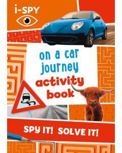 I Spy On A Car Journey Activity Book
