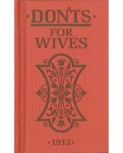 Donts  For Wives - Book