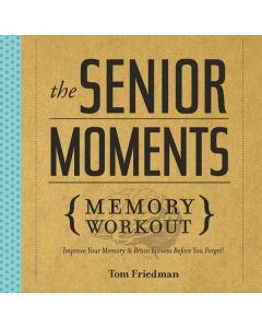 Senior Moments Memory Workout - Book