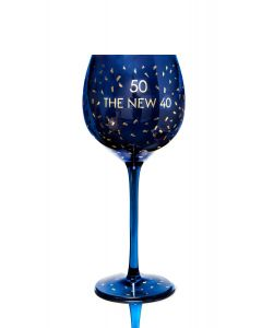 OPULENT WINE GLASS - AGE 50