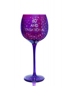 OPULENT WINE GLASS - AGE 60