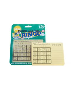 VIRTUAL MEETING: BINGO NOTEPAD