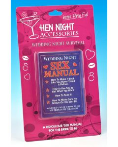 HEN NIGHT - WEDDING SEX MANUAL