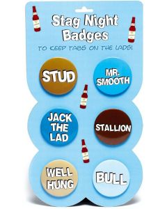 STAG NIGHT - BADGES