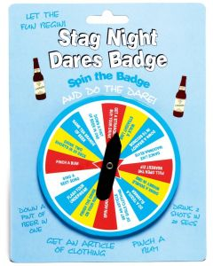 STAG NIGHT - DARES BADGE