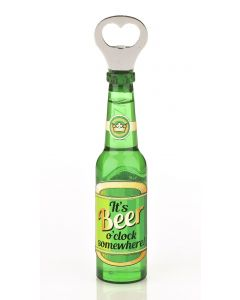 BEER BOTTLE OPENER - ITS BEER OCLOCK