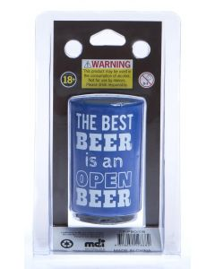 BEST BEER IS OPEN BEER - BOTTLE OPENER