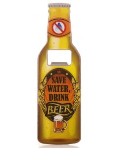 BEER BOTTLE OPENER - SAVE WATER