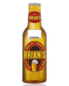 BEER BOTTLE OPENER - BRIAN