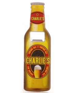 BEER BOTTLE OPENER - CHARLIE