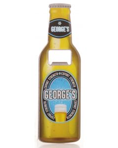 BEER BOTTLE OPENER - GEORGE