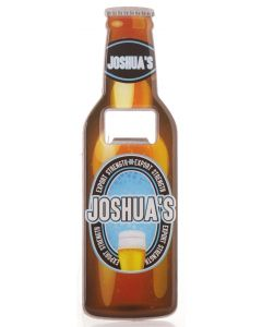 BEER BOTTLE OPENER - JOSHUA
