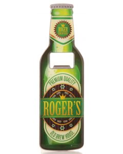 BEER BOTTLE OPENER - ROGER