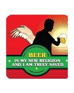 COASTER - BEER - NEW RELIGION