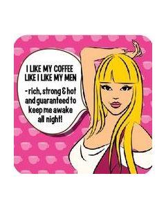COASTER - LIKE COFFEE LIKE MEN