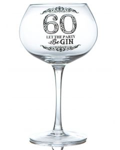 GIN BLOOM GLASS - 60