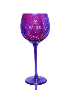 OPULENT WINE GLASS - AGE 21