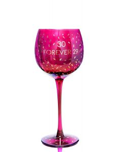 OPULENT WINE GLASS - AGE 30