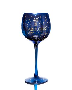 OPULENT WINE GLASS - AGE 40